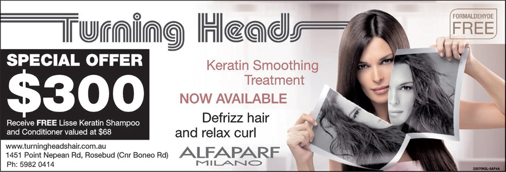 Turning Heads Hair Keratin Smoothing Treatment